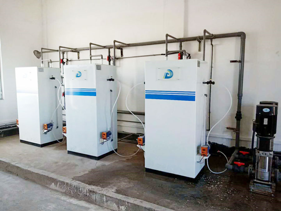 Application case of sodium hypochlorite generator for disinfection of drinking water in rural areas