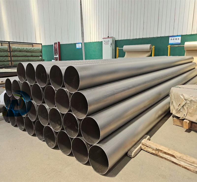 Titanium seamless tube/Titanium pipe
