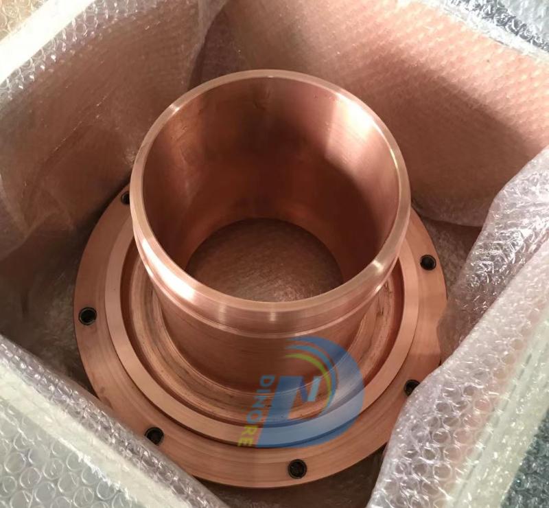 Customization Processing Red copper Crucibles