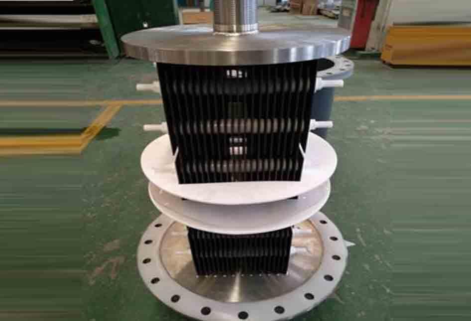 Ruthenium titanium electrodes for electrochlorination